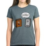 Book vs eBook T-Shirt