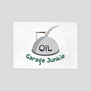 Garage Junkie 5'x7'Area Rug
