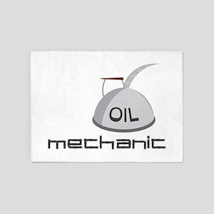 Mechanic 5'x7'Area Rug
