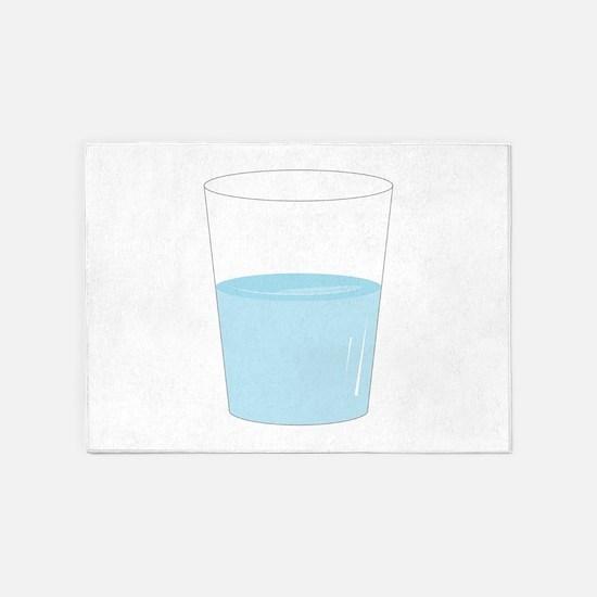 Glass Half Full 5'x7'Area Rug