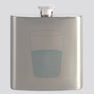 Glass Half Full Flask