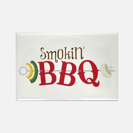 Smokin BBQ Magnets