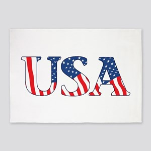 USA 5'x7'Area Rug