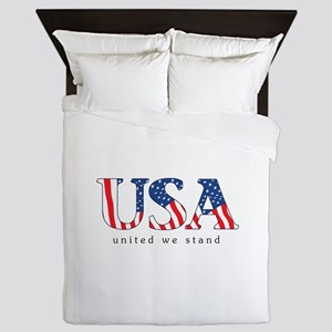 United We Stand Queen Duvet