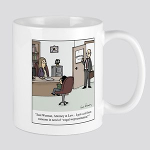 Wegal Wepwesentation 11 oz Ceramic Mug