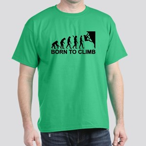 Evolution rock climbing Dark T-Shirt