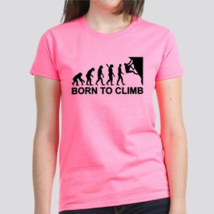 Evolution rock climbing Women's Dark T-Shirt