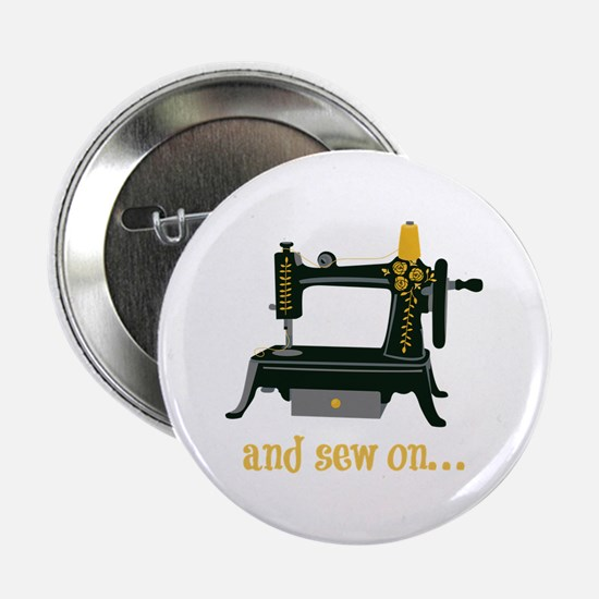 """And Sew On... 2.25"""" Button"""