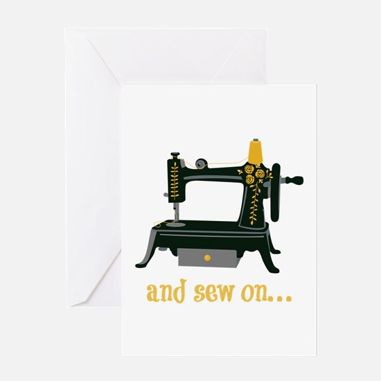 And Sew On... Greeting Cards