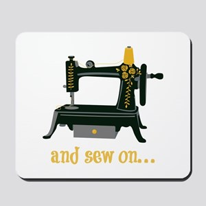 And Sew On... Mousepad