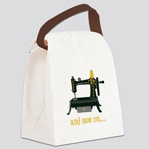And Sew On... Canvas Lunch Bag