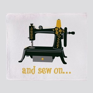 And Sew On... Throw Blanket