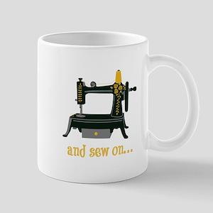 And Sew On... Mugs