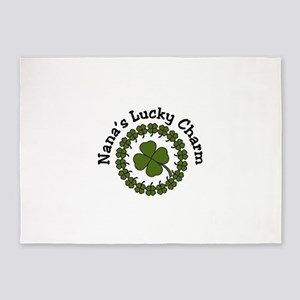 Nanas Lucky Charm 5'x7'Area Rug