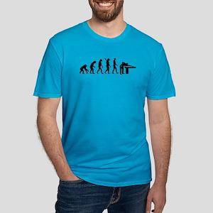 Evolution Billiards Men's Fitted T-Shirt (dark)