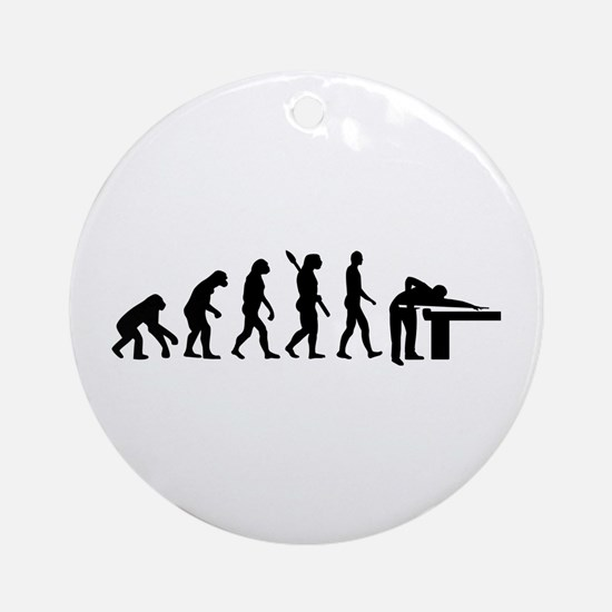 Evolution Billiards Ornament (Round)
