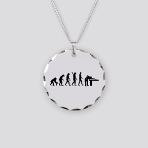 Evolution Billiards Necklace Circle Charm
