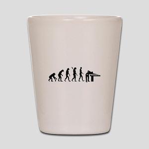 Evolution Billiards Shot Glass