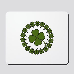 Clover Circle Mousepad