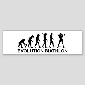 Evolution Biathlon Sticker (Bumper)
