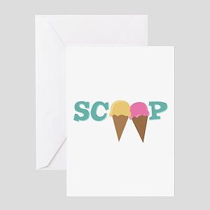 Scoop Greeting Cards