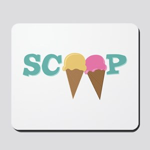 Scoop Mousepad