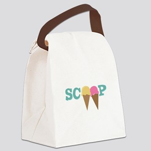 Scoop Canvas Lunch Bag