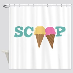 Scoop Shower Curtain