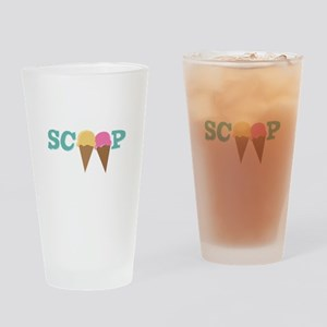 Scoop Drinking Glass