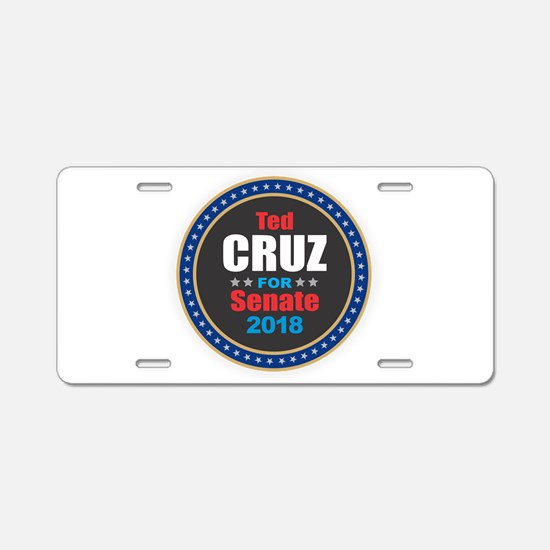 Ted Cruz Aluminum License Plate