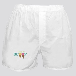 What's The Scoop Boxer Shorts