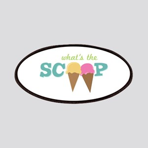 What's The Scoop Patches