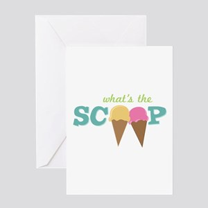 What's The Scoop Greeting Cards