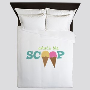What's The Scoop Queen Duvet