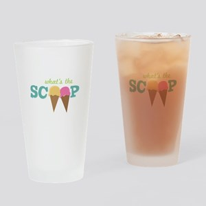 What's The Scoop Drinking Glass