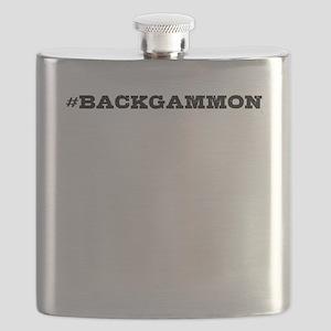 Backgammon Hashtag Flask