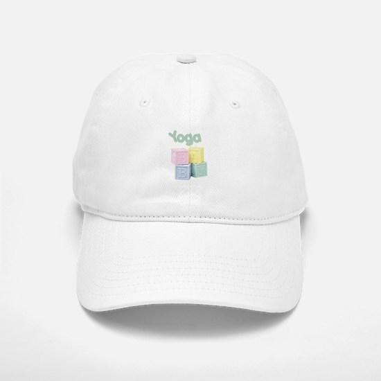 Yoga Baby Blocks Baseball Baseball Cap