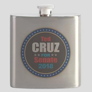 Ted Cruz for Senate Flask