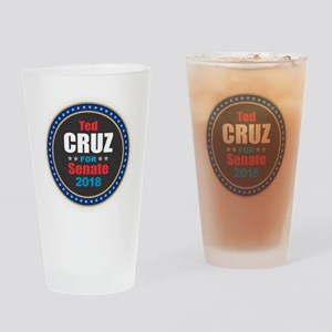 Ted Cruz for Senate Drinking Glass