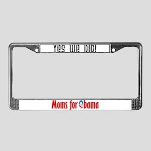 Moms for Barack Obama License Plate Frame