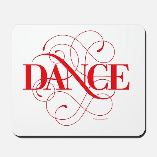 Dance Flourish Mousepad