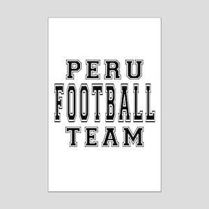 Peru Football Team Mini Poster Print