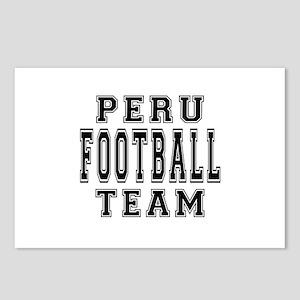 Peru Football Team Postcards (Package of 8)