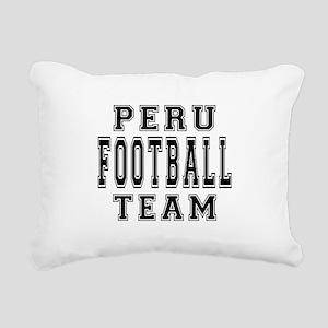 Peru Football Team Rectangular Canvas Pillow
