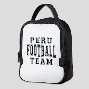 Peru Football Team Neoprene Lunch Bag