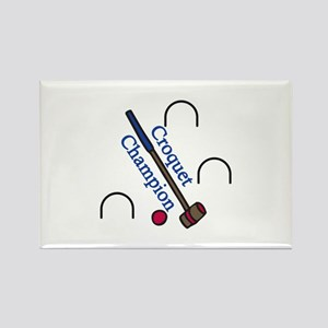 Croquet Champion Magnets