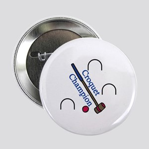 "Croquet Champion 2.25"" Button"