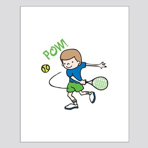 Boy Tennis Player Posters