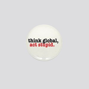 THINK GLOBAL Mini Button