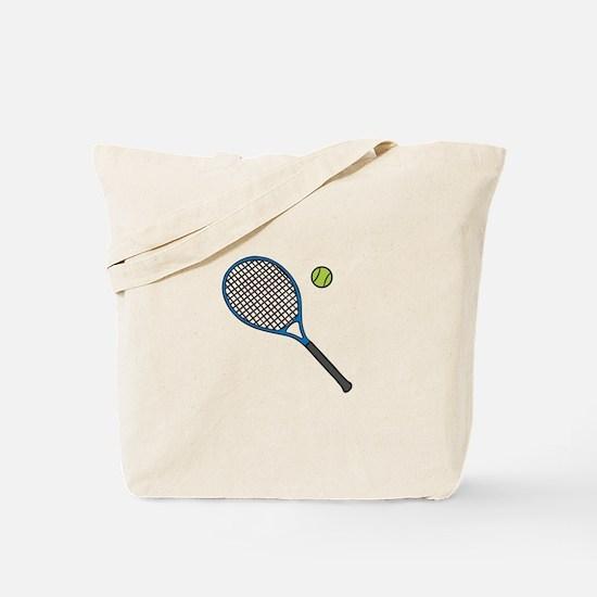 Racquet & Ball Tote Bag